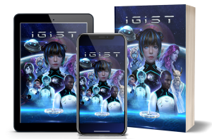 IGIST Book + App shown on tablet and mobile
