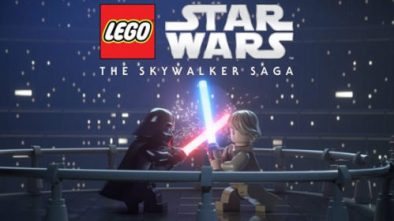 LEGO Star Wars The Skywalker Saga showing Darth Vader and Obi-Wan