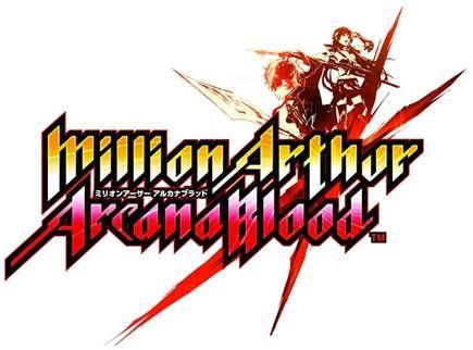 Million Arthur Arcana Blood logo
