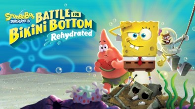 SpongeBob Squarepants Battle for Bikini Bottom Rehydrated logo