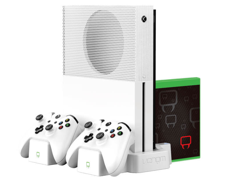 Venom Xbox One S Vertical Charging Stand White Hardware