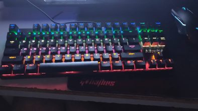Alfawise K1 Mechanical Gaming Keyboard backlit