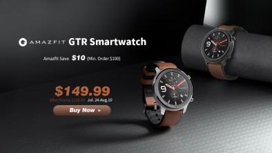 Amazfit GTR Gearbest Promo