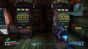 Borderlands 2 - Video Game vs Online Gambling - In-game casino slots