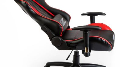 BraZen Phantom Elite Black and Red Reclining