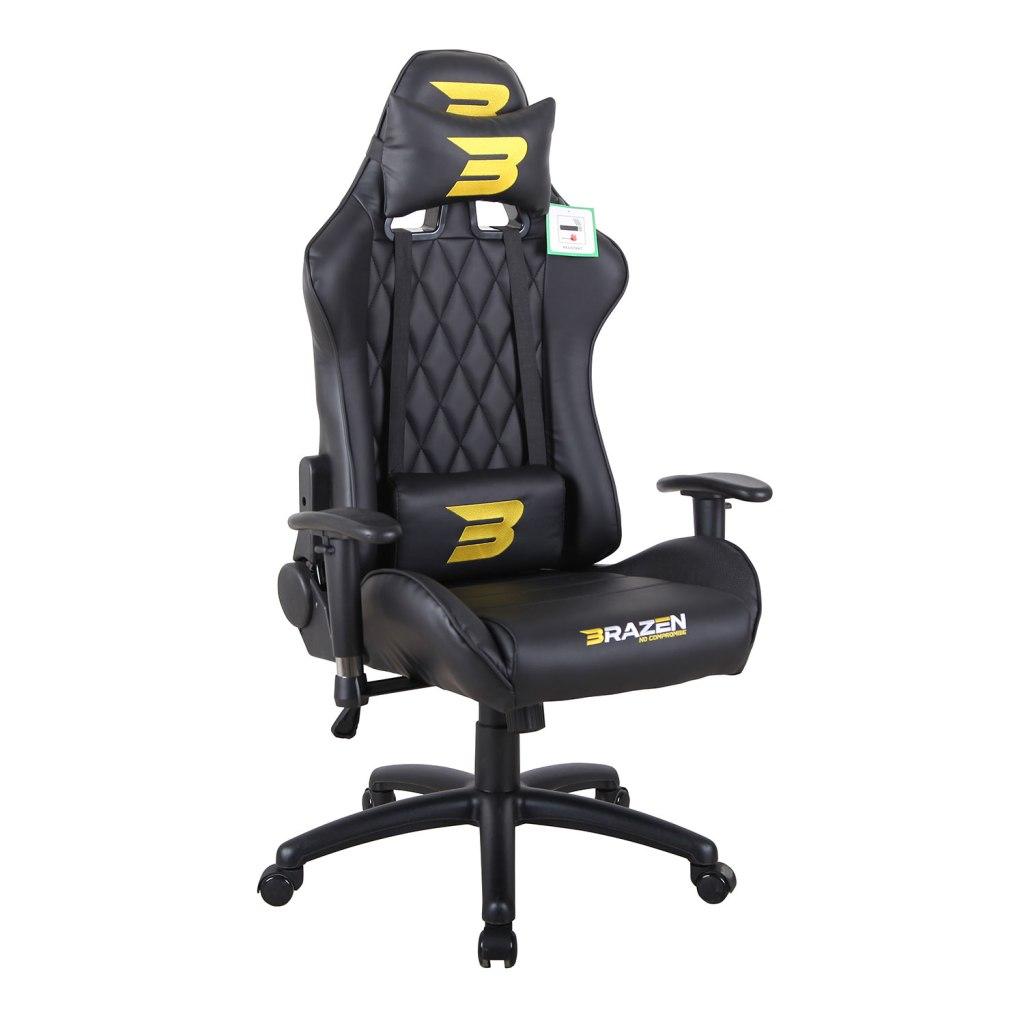 BraZen Phantom Elite in Black and yellow