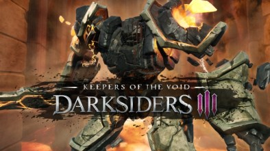 Darksiders III Keepers of the Void logo
