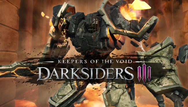 Darksiders III Keepers of the Void logo