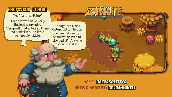 Sparklite's Professor Corwin's advice on The Catersplitter