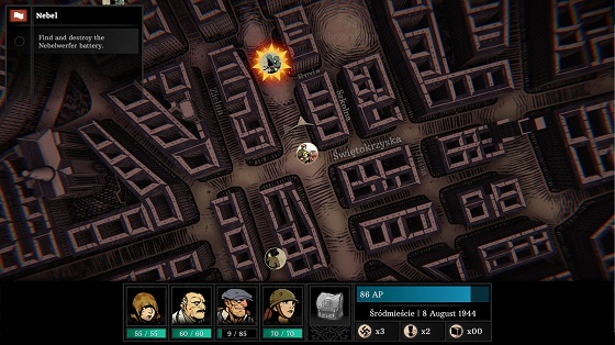 WARSAW gameplay Screenshot
