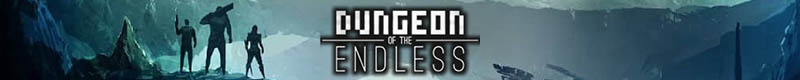 Dungeon of the Endless logo banner