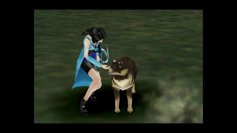 Final Fantasy VIII Remastered International Dog Day Angelo Screenshot 03
