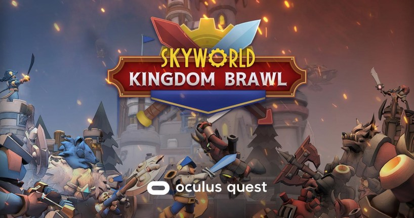 Skyworld: Kingdom Brawl logo
