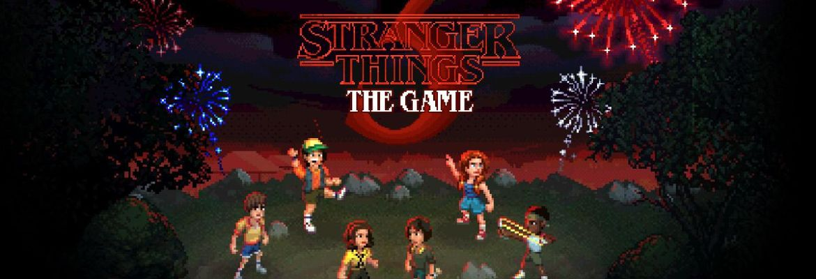 Stranger Things 3: The Game logo