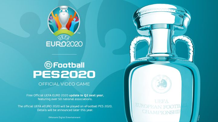 UEFA EURO 2020 eFootball PES 2020 update details