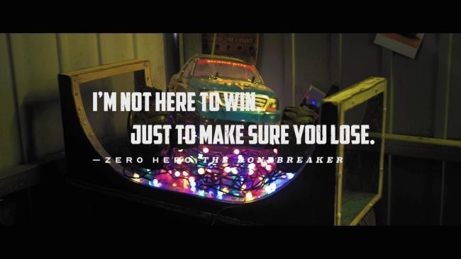 Wreckfest, Zero Hero the Bonebreaker quote
