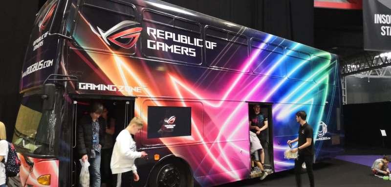 The ROG Bus at Insomnia 65