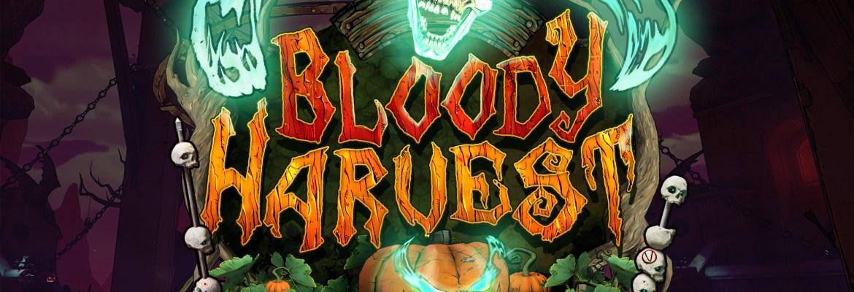 Bloody Harvest logo from Borerlands 3