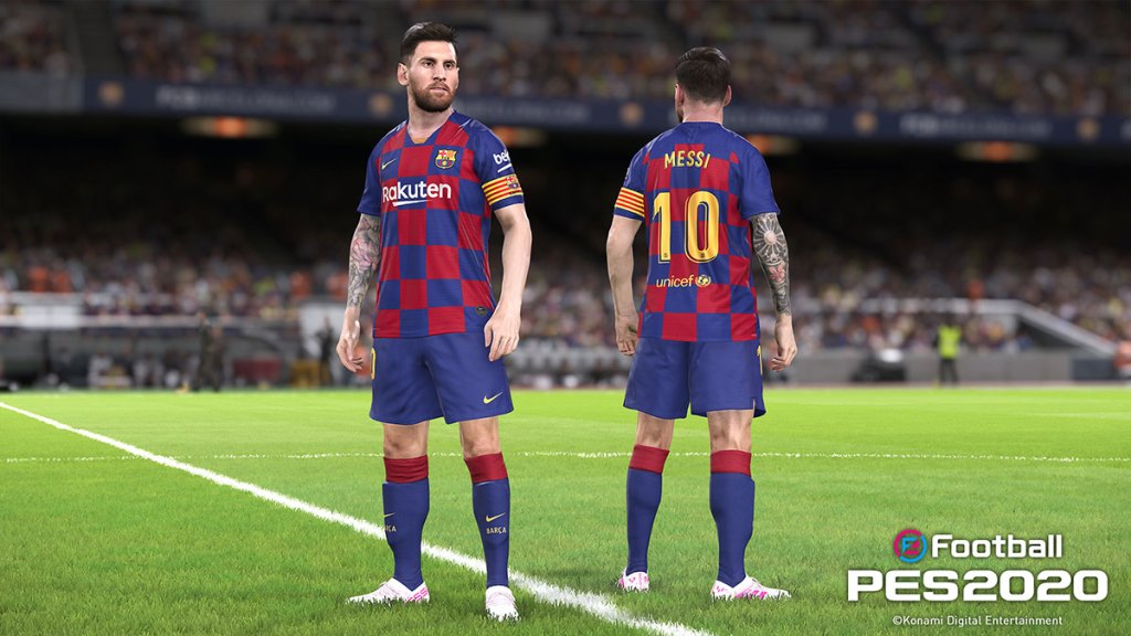 Messi new player model in eFootball PES 2020
