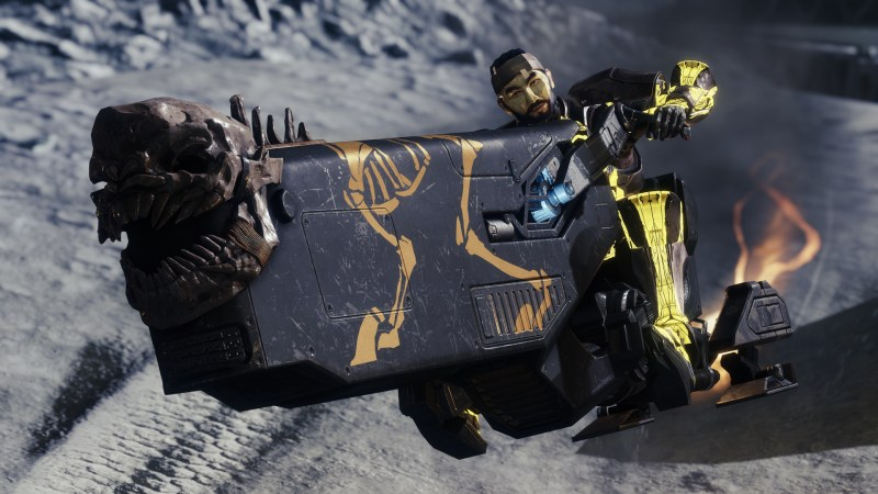 Guardian Riding a new Vehicle