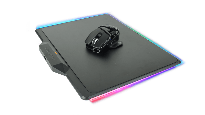 Mad Catz R.A.T.AIR Mouse on surface