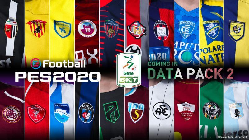 Serie BKT Teams in eFootball PES 2020