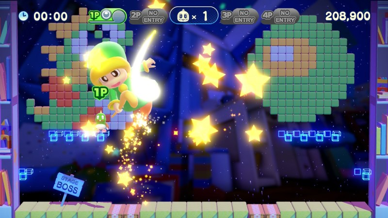 Bubble Bobble 4 Friends gameplay