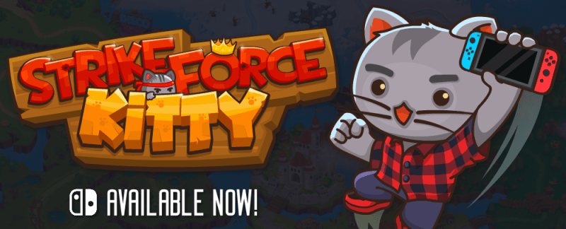 Strike Force Kitty out now on Nintendo Switch