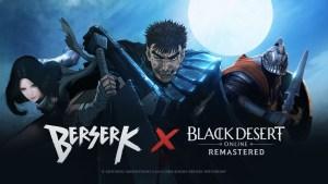 Beserk Black Desert Online logo and artwork
