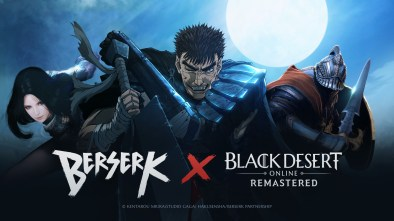 Beserk Black Desert Online logo and artwork
