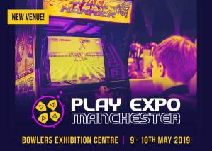 Replay Events flagship event, PLAY Expo Manchester
