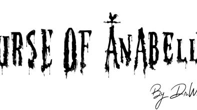 Curse of Anabelle Logo Finally Black