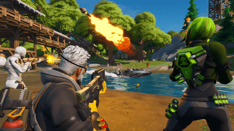 Fortnite: Chapter 2 upgraded combat