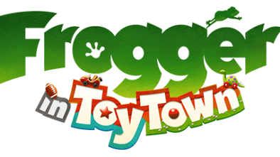 Frogger in Toy Town logo
