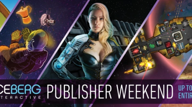 Iceberg Interactive Publisher Weekend artwork