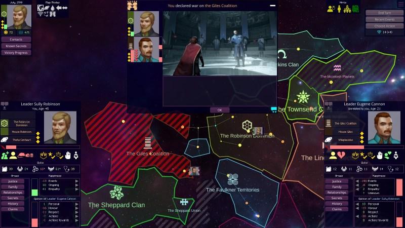 Star Dynasties gameplay