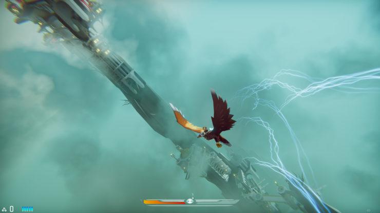 The Falconeer gameplay
