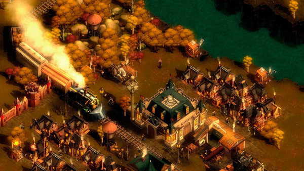 They Are Billions The New Empire campaign gameplay