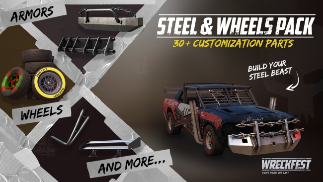 Steel & Wheels pack contents