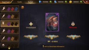 Era of Celestials sould card system