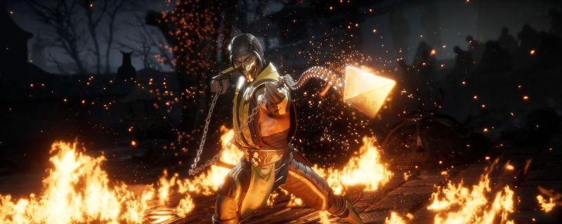 Mortal Kombat 11 Scorpion on Stadia
