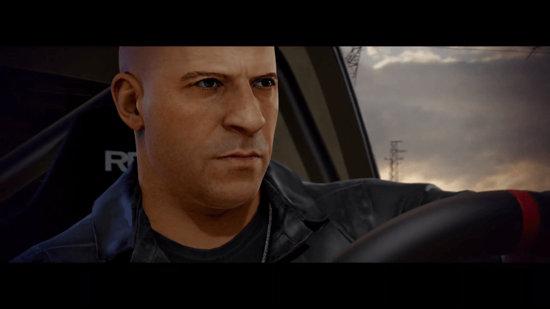 Fast & Furious Crossroads Vin Diesel behind the wheel