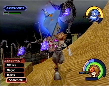 PS2 Gameplay from Kingdom Hearts