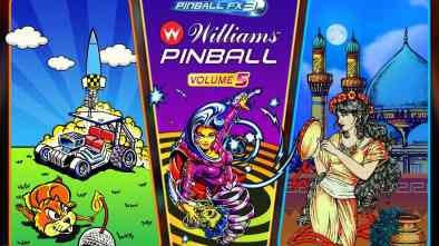 Pinball FX3 Williams Pinball: Volume 5 logo and artwork