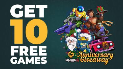 Qubic Games Nintendo Switch giveaway banner