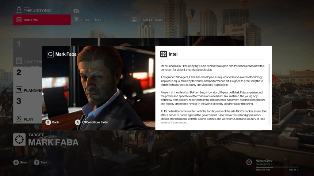 Sean Bean in Hitman 2