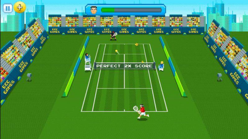 Super Tennis gameplay