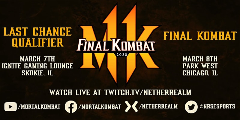 Final Kombat 2020 last qualifier dates