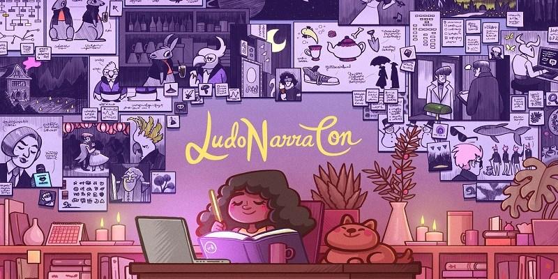 LudoNarraCon 2020 logo