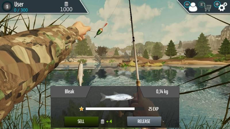 Fishing Adventure gameplay